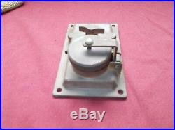 Vintage R & S Co. Ny Brass Industrial Ship Boat Nautical Light Switch Cast Iron