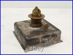 Vintage Road Light Signal Lantern Oil Lamp Red Green Train Nautical Navy Army