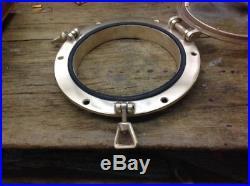 Vintage Round Bronze Port Lights / Port Holes 10 OD sold separately