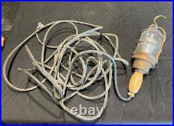 Vintage Russell & Stoll Marine Drop Lamp Light