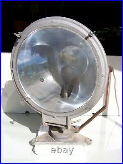 Vintage Ship Spot Light by Crouse-Hinds Huge 31 High 19 Lens Search Light