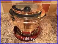 Vintage Ships Compass. Light Brass Marine Boat Yacht Nautical