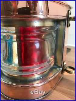 Vintage Ships Masthead Light. Maritime Lantern Boat, Yacht Lamp Nautical Marine