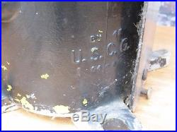 Vintage United States Coast Guard Blue Buoy Light Uscg Maritime Rare