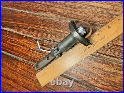 Vintage Wilcox Crittenden Bronze Anchor/mast Light Led, Glass Lens Bronze Mount