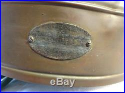 Vintage/antique one mile ray ship search spot light made of copper/brass