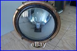 Vintage marine brass original seach light / marine spotlight / nautical light