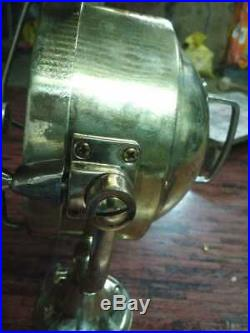 Vintage marine brass ship nautical spot light search light 100% original