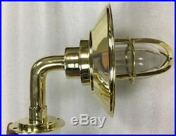 Vintage model nautical style alley way brass passage way light new 2 piece