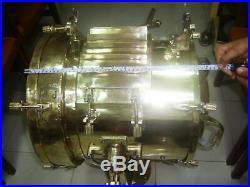 Vintage nautical marine brass shutter spot light collected from Navy ship 52kg