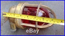 Vintage nautical marine wiska passage light set of 3 pieces P4