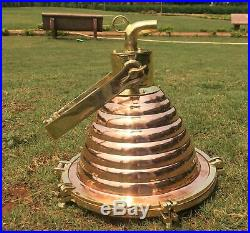 Vintage style new marine brass & copper ship nautical spot light 1 piece