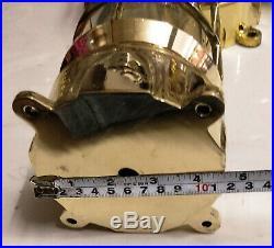 Vintage style new marine brass ship nautical passage way bulkhead light 1 piece