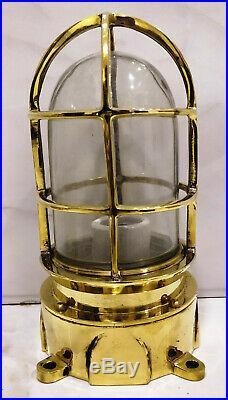 Vintage style new marine brass ship nautical passage way bulkhead light 4 piece