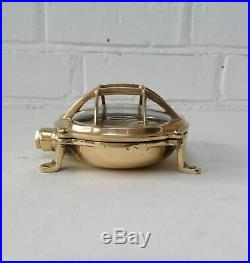 vintage style new marine brass ship nautical turtle style passage light 4 piece