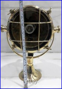Vintage style new marine brass ship spot search light 1 piece