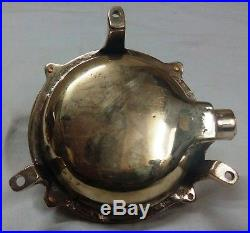 Vintage style new nautical marine brass ship bulkhead light 3 piece
