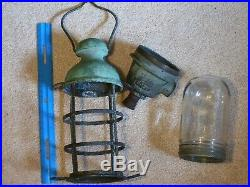 Vtgnautical, Ship Cage Lamp, Lightrussel & Stoll Nybrass/copper1531-bmarine
