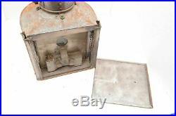 WW2 wwii British navy ship lantern light antique navigation nautical VTG split